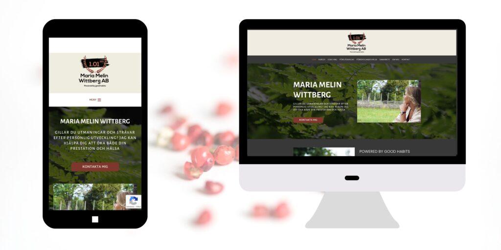 webbdesign maria melin wittberg